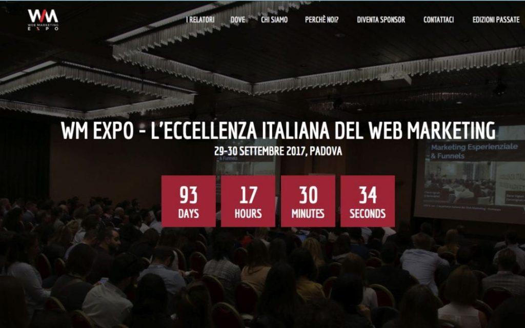 Web Marketing Expo 2017 a Padova