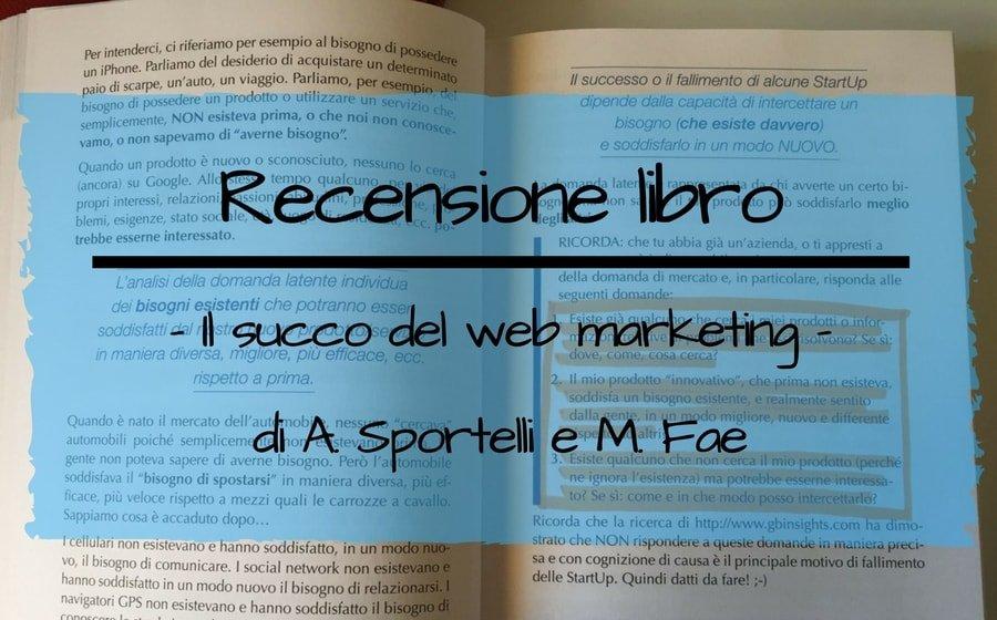 recensione libro il succo del web marketing