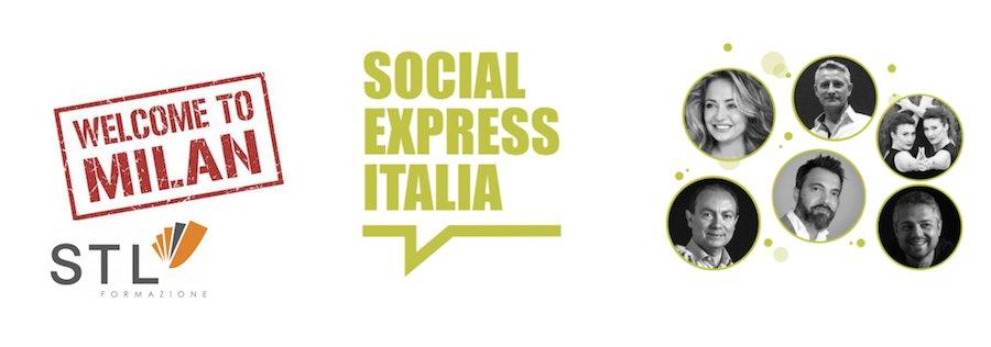 Social Express a Milano 2017