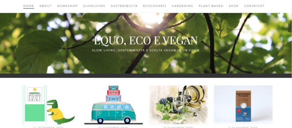 Equo, Eco e Vegan